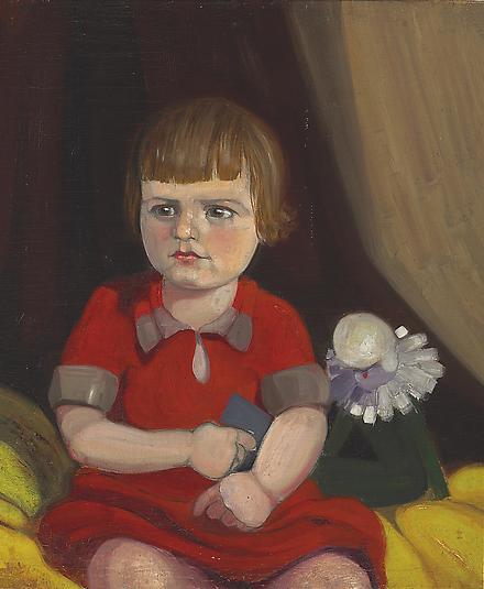 <p>  <em>Portrait of Renée,</em>1924</p>